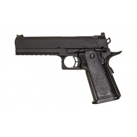Pistola Hi-Capa 5.1 Gas Blowback black [Raven]
