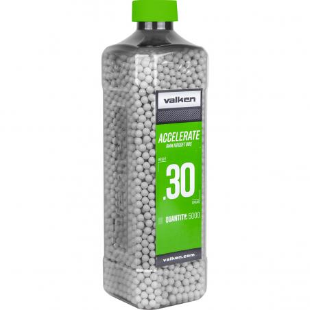 0.30g Accelerate 5000BBs white [Valken]