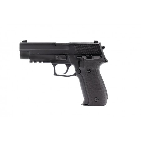 Pistola R226 Gas Blowback black [Raven]