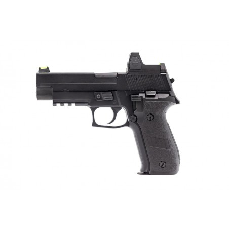 Pistola R226 Gas Blowback with Red Dot Sight Black [Raven]