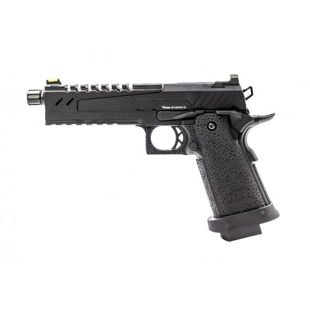 Pistola Hi-Capa 5.1 Gas Blowback Split black Slide and black Frame [VORSK]