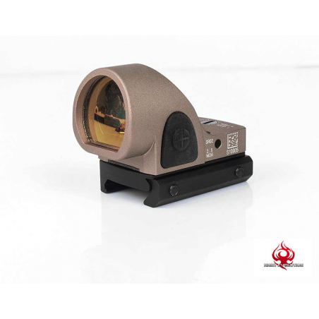 Mini SRO Red Dot Scope Sight dark earth for Glock (AO 6010-DE) [Night Evolution]