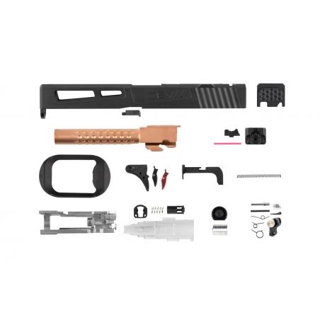 ZEV Prizefighter Slide Kit for Tokyo Marui G17 (RMR) black/bronze [PTS]