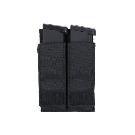 Double Pistol Magazine Pouch black [8Fields]